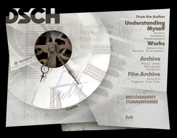 shostakovich DVD-ROM CD-ROM opening screen